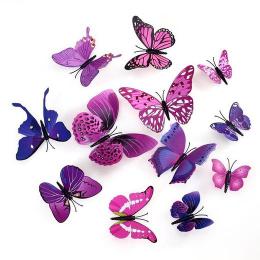hm-1370. Бабочки на магнитах. 12 шт