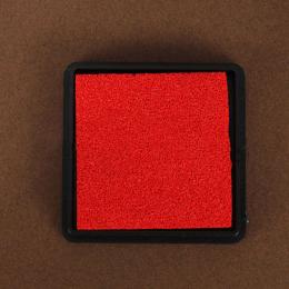 hm-1386. Подушечка штемпельная, красный