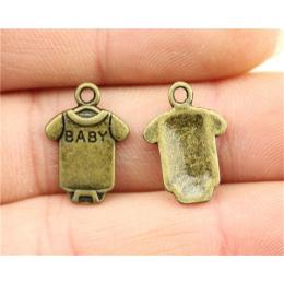 hm-1408. Подвеска Комбинезон Baby, цвет бронза. 5 шт., 12 руб/шт
