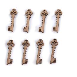hm-1420. Ключ, дерево. 5 шт., 9 руб/шт