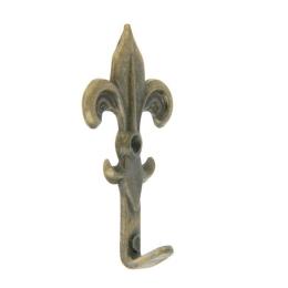 hm-1494. Крючок «Геральдическая лилия», 5 шт., 20 руб/шт