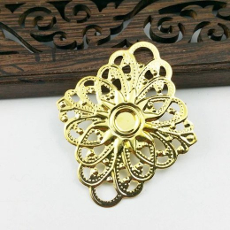 hm-2009. Декор ромб, цвет золото