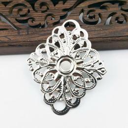 hm-2010. Декор ромб, цвет серебро. 5 шт., 11 руб/ш