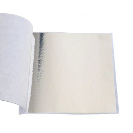 hm-2050. Поталь 10 шт., цвет серебро