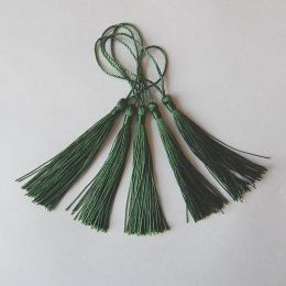 hm-2125. Кисточка, цвет темно-зеленый. 5 шт., 11 руб/шт