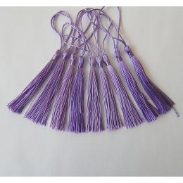 hm-2138. Кисточка, цвет фиолетовый. 5 шт., 11 руб/шт