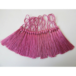 hm-2139. Кисточка, цвет  темно-розовый. 5 шт., 11 руб/шт