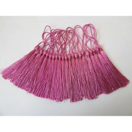 hm-2139. Кисточка, цвет  темно-розовый