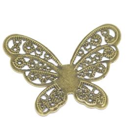 hm-258. Декоративный элемент Бабочка. 100 шт., 6 руб/шт