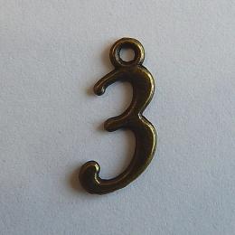 hm-270. Цифра 3., 5 шт., 7 руб/шт