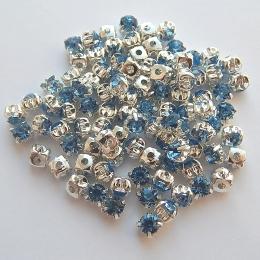 hm-353. Пришивной элемент, небесно голубой. 10 шт.