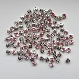 hm-538. Пришивной элемент, светло-розовый, 50 шт., 1,2 руб/шт
