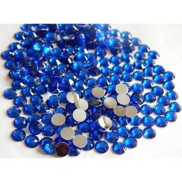 hm-600. Стразы, синие, 100 шт., 0,7 руб/шт
