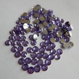 hm-604. Стразы, фиолетовые, 100 шт., 0,7 руб/шт