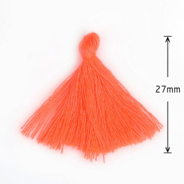 hm-877. Кисточка, цвет оранжевый. 10 шт., 6 руб/шт