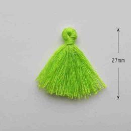 hm-881. Кисточка, цвет светло-зеленый. 10 шт., 6 руб/шт
