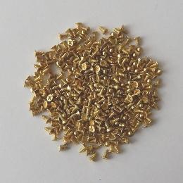 hm-990. Шуруп, цвет золото. 10 шт., 2 руб/шт