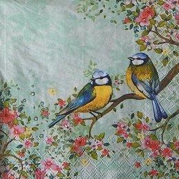 12352. Птицы на ветке. 15 шт., 16 руб/шт