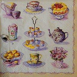 12802. Чай с десертом
