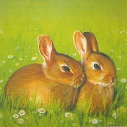 1432. Два зайца. 15 шт., 9 руб/шт