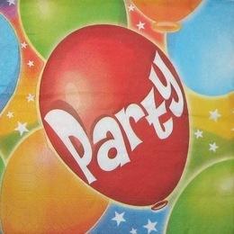 1622. Party. 15 шт, 6 руб/шт