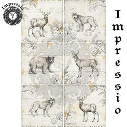 17217. Декупажная карта Impressio, плотность 45 г/м2