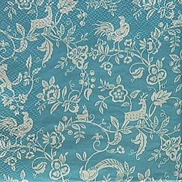 20072. Лесная сказка на голубом