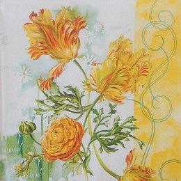 20219. Цветы акварелью