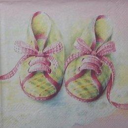 2189. Розовые башмачки. 20 шт., 5 руб/шт