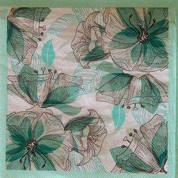 24116. Зелёные цветы
