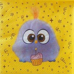 24121. Фиолетовый птенчик Angry Birds. 10 шт., 8 руб/шт