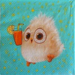 24122. Бежевый птенчик Angry Birds. 5 шт., 11 руб/шт