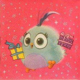 24123. Голубой птенчик Angry Birds. 15 шт., 6 руб/шт