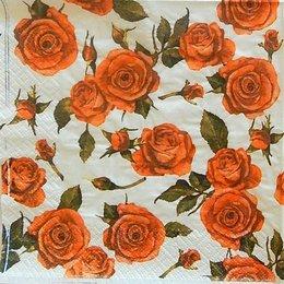 24130. Красные розы и бутоны