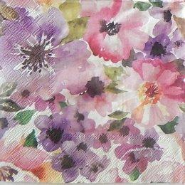 24131. Фиолетово-розовые цветы. 15 шт., 8 руб/шт