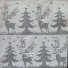 24163. Олень и елки.