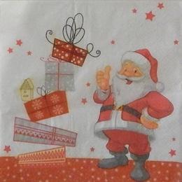 24167. Санта Клаус с подарками.