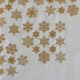 24173. Золотые снежинки. 5 шт., 14 руб/шт