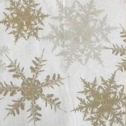 24174. Золотые и серые снежинки. 10 шт., 11 руб/шт