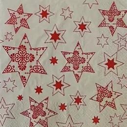 24190. Красные звезды. 10 шт., 8 руб/шт
