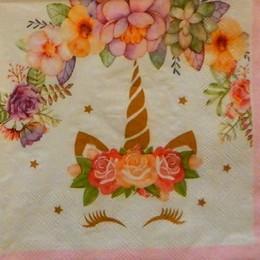 24215. Единорог на розовом. 5 шт., 14 руб/шт
