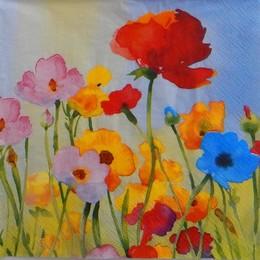 24232. Весенние цветы. 15 шт., 8 руб/шт