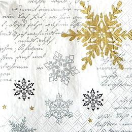 24245. Снежинки серебро.