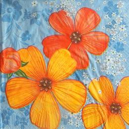 24292. Яркие цветы. 10 шт., 8 руб/шт