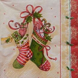 24330. Рождественские носки. 15 шт., 5 руб/шт
