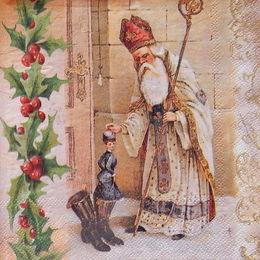 24340. Святой Николай. 10 шт., 8 руб/шт