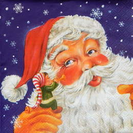24359. Дед Мороз и гномик