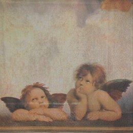 2900. Ангелы на фоне неба