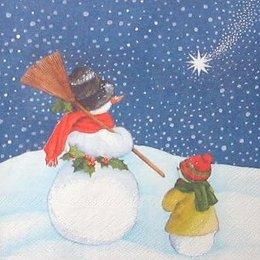 4158. Снеговики и комета
