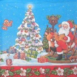 4322. Дед Мороз и олененок. 15 шт., 6 руб/шт
